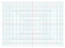 вектор диаграммы поля 32 дюймов для традиционного 2d animationch Стоковое Изображение RF
