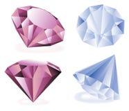 вектор диамантов Стоковые Фото