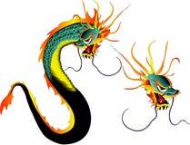 вектор дракона Стоковая Фотография