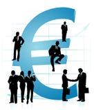 вектор евро иллюстрация вектора