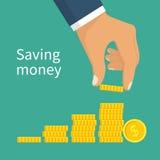 Вектор денег сбережений бесплатная иллюстрация
