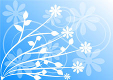 вектор детального чертежа предпосылки флористический стоковое фото