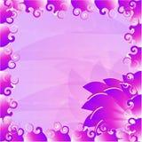 вектор детального чертежа предпосылки флористический иллюстрация вектора