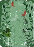 вектор детального чертежа предпосылки флористический бесплатная иллюстрация