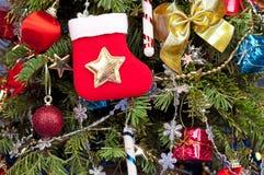 вектор елевого символа рождества традиционный Стоковое Изображение RF