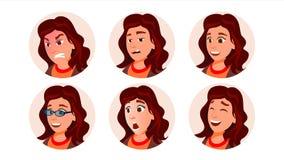 Вектор женщины воплощения дела взволнованности людские изображение icicle стильное Плоская иллюстрация характера иллюстрация вектора