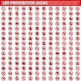 180 вектор запрета установленный знаками иллюстрация вектора