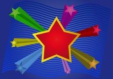вектор звезды Стоковые Изображения RF