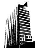 вектор здания Стоковое Изображение RF