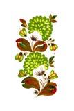 вектор зеленого цвета цветка eps10 Стоковые Фото