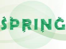 Вектор зеленых предпосылок Стоковое Фото
