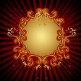 вектор знамени ретро Стоковое Изображение RF