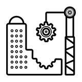 Вектор значка архитектуры бесплатная иллюстрация