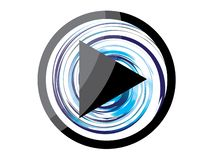 Вектор значка кнопки игры Бесплатная Иллюстрация