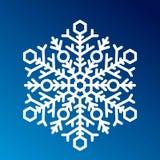 Вектор значка снежинки иллюстрация штока