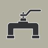 Вектор значка трубы Стоковое Изображение