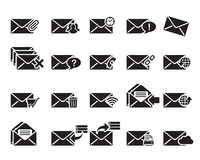 Вектор значков электронной почты Стоковая Фотография RF