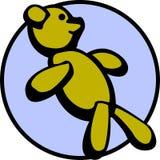 вектор игрушки медведя животного имеющимся заполненный плюшем Стоковое Изображение RF