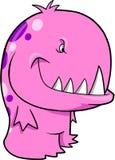 вектор изверга розовый Стоковые Изображения