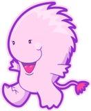 вектор изверга розовый Стоковая Фотография