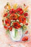 вектор изображения цветка букета яркий Стоковая Фотография RF