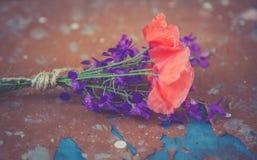 вектор изображения цветка букета яркий Стоковые Изображения RF