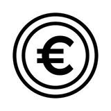вектор иконы евро собрания большой бесплатная иллюстрация