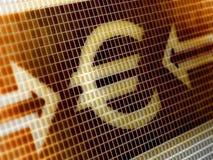 вектор иконы евро собрания большой Стоковые Фото