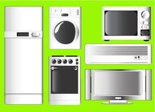 вектор иконы электроники домашний Стоковые Фото