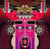 вектор иллюстрации абстрактного искусства графический Стоковое фото RF