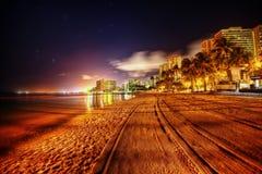 вектор иллюстрации Гавайских островов пляжа тропический стоковые фото