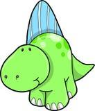 вектор иллюстрации динозавра иллюстрация вектора