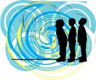вектор иллюстрации друзей иллюстрация штока