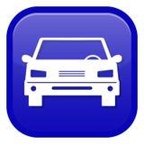 вектор иллюстрации иконы автомобиля eps10 Вид спереди стоковая фотография rf