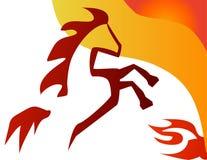 вектор иллюстрации лошади бесплатная иллюстрация