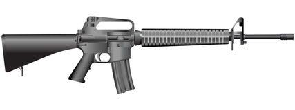 вектор иллюстрации пушки Стоковое Изображение RF