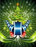 вектор иллюстрации рождества Стоковая Фотография