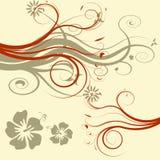 вектор иллюстрации цветка Стоковые Фото