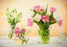вектор иллюстрации цветков букета флористический Стоковые Фото
