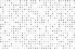 вектор иллюстрации halftone grunge предпосылки Градиент цифров Поставленная точки картина с кругами, точками, указывает малое и б Стоковое Изображение