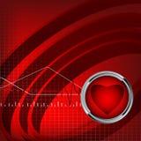 вектор ИМПа ульс фона eps10 медицинский бесплатная иллюстрация
