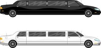 Вектор лимузина Vip Стоковое Изображение