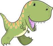 Вектор динозавра тиранозавра Стоковые Изображения RF