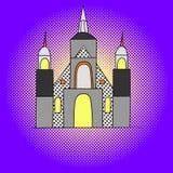 Вектор искусства шипучки Монреаля Стоковое Изображение