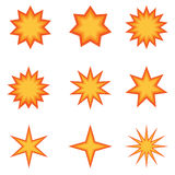 вектор иллюстратора формы взрыва eps дополнительной книги 8 шуточный Стоковое фото RF