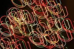 вектор иллюстрации гирлянды рождества карточки предпосылки Стоковое Изображение RF
