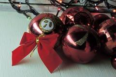 вектор иллюстрации гирлянды рождества карточки предпосылки Справочная информация Стоковая Фотография RF
