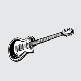 Вектор иллюстрации гитары Стоковое фото RF
