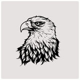 вектор иллюстрации головного орла Стоковые Изображения RF