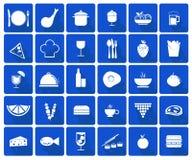 вектор иллюстрации икон еды конструкции вы Стоковое фото RF